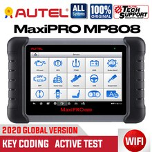 Autel MaxiPRO MP808 OBD2 Scanner Diagnose Werkzeug Bi-directional Control OBDII Automotive toolskey Codierung PK MAXIDAS DS808 MS906