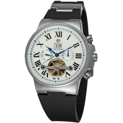 Automatic Mechanical Watch For Men Waterproof Watch Fashion Business Personality European And American Style 2021 New Trend enlarge