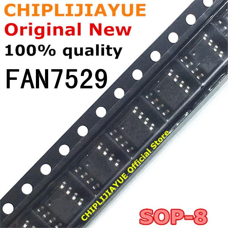 5 uds FAN7529 SOP-8 FAN7529MX 7529 SOP8 SOP SMD nuevo y original IC Chipset