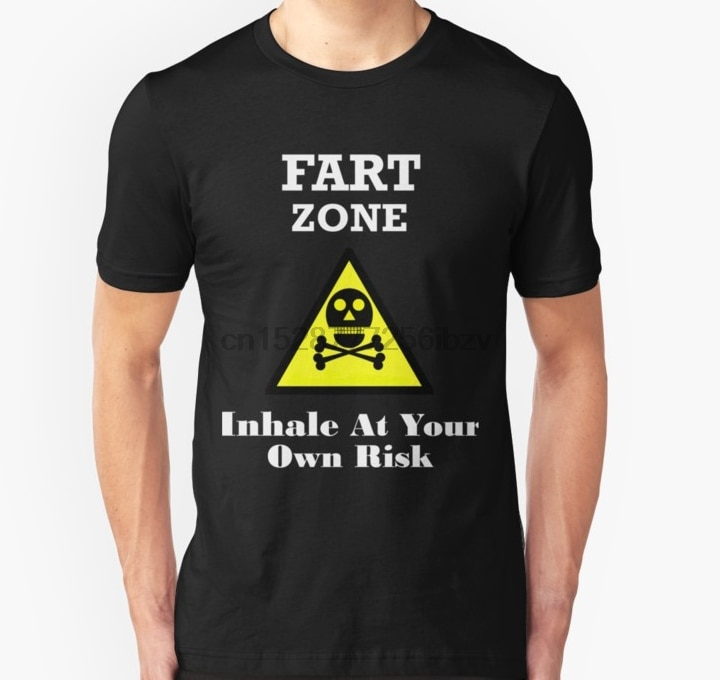 Мужская футболка Fart рубашка Fart Zone футболка Забавный фартер подарок идеи футболка (1) Футболка с принтом Футболки