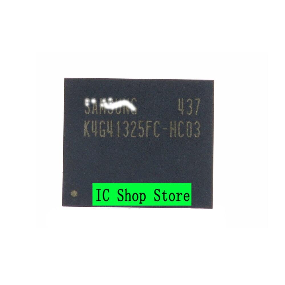 5 قطعة/الوحدة K4G41325FC-HC03 بغا جديد الأصلي رقاقة IC حقيقية