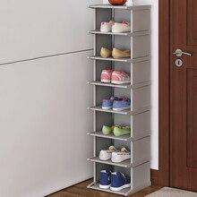 Zapatero de pie a prueba de polvo, armario de zapatos, montaje, estante organizador de zapatos, soporte de armario de esquina de alta calidad, increíble armario de zapatos