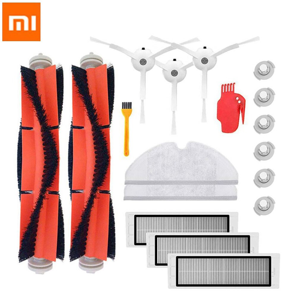 HEPA Filter Vacuum Cleaners Parts Accessories Kits for Xiaomi Mi Robot 2 S50 S51 S5 S6 E20 Main Brush Side Brush Mop