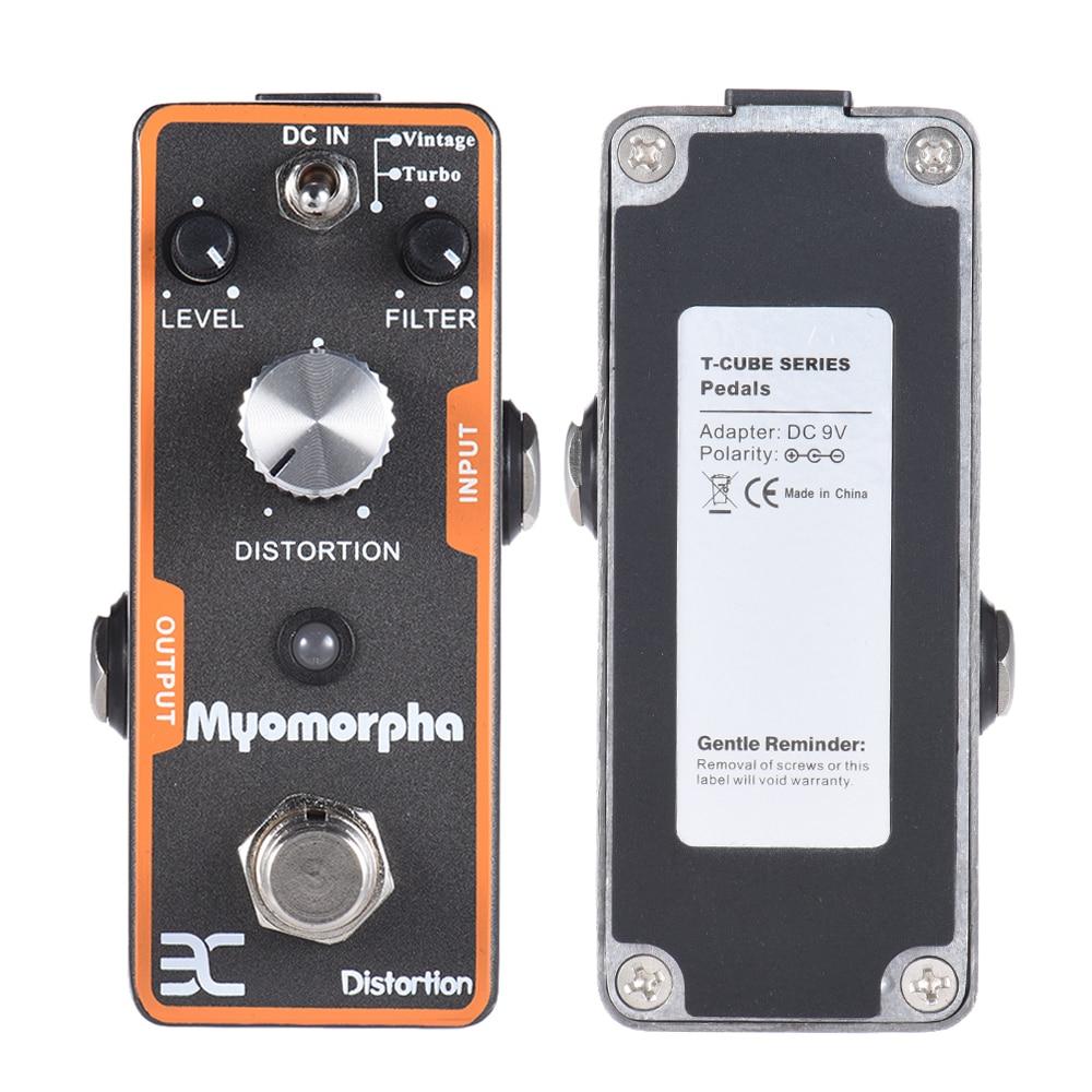 ENO TC-13 искажения гитары педаль эффектов True Bypass Myomorpha гитарные части и аксессуары