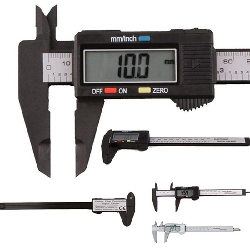 Digital Vernier Caliper 150mm/6inch Lcd Digital Electronic Vernier Altimeter Gauge Micrometer Ruler Measuring Accessories Tools