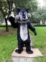2020 dog wolf high quality mascot costume handmade suits cosplay party dress outfits clothing ad promotion carnival