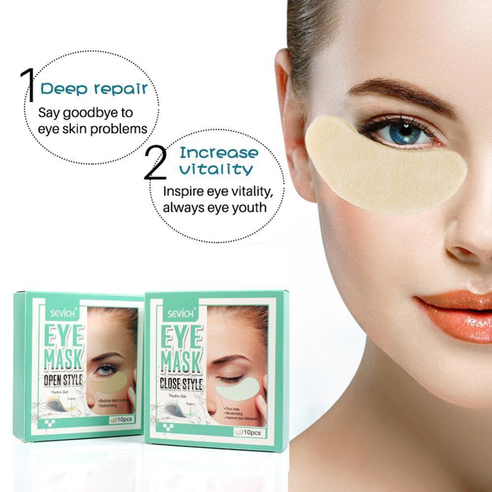 1 sztuk maska nawilżający oczu skóry Eyemask Hydro Gel zmarszczek ujędrniający odśwież oczy cienkie linie Anti-Aging maska do pielęgnacji skóry oczu