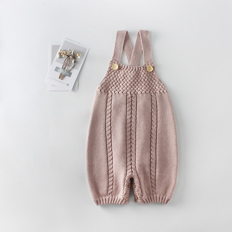 Ropa tejida para bebé, mono tejido para otoño para bebé, Mono para niñas recién nacidas de lana para bebé recién nacido, Mono para niños, ropa para bebé