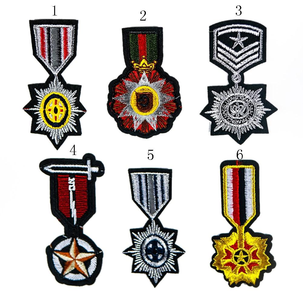 Parche con parche de bordado militar, Parche de Medalla de Honor Parche táctico de las fuerzas especiales, parche para chaqueta, 6 tipos