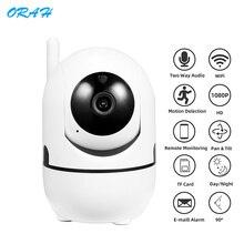 ORAH 1080P IP caméra de Surveillance caméra de sécurité WiFi maison sans fil utilisé avec IP nuage suivi automatique caméra de vidéosurveillance caméra IP
