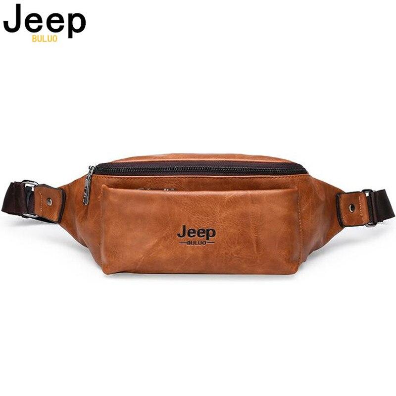 JEEP BULUO waist bag shoulder bag brand holiday carnival ladies casual waist bag messenger bag waist bag young men cute fashion