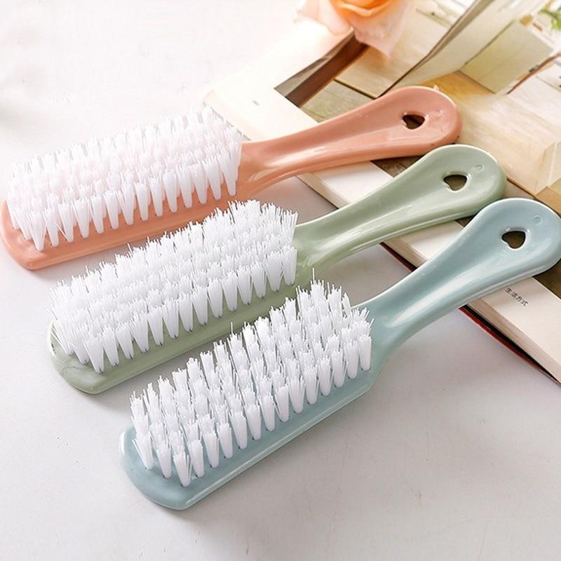 Пластиковая щетка с длинной ручкой для чистки, принадлежности, щетка для чистки кухни, щетка для чистки обуви, щетка для стирки