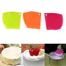 3 pcs/set Kitchen Accessories Tools Dough Cake Fondant Scraper Kitchen Food Decorating Tools Kitchen