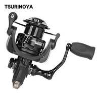 TSURINOYA Fishing Reel FALCON 4000 5000 8+1BB 5.2:1 Max Drag 11kg Long Casting Wheel Spinning Saltwater Feeder Reel
