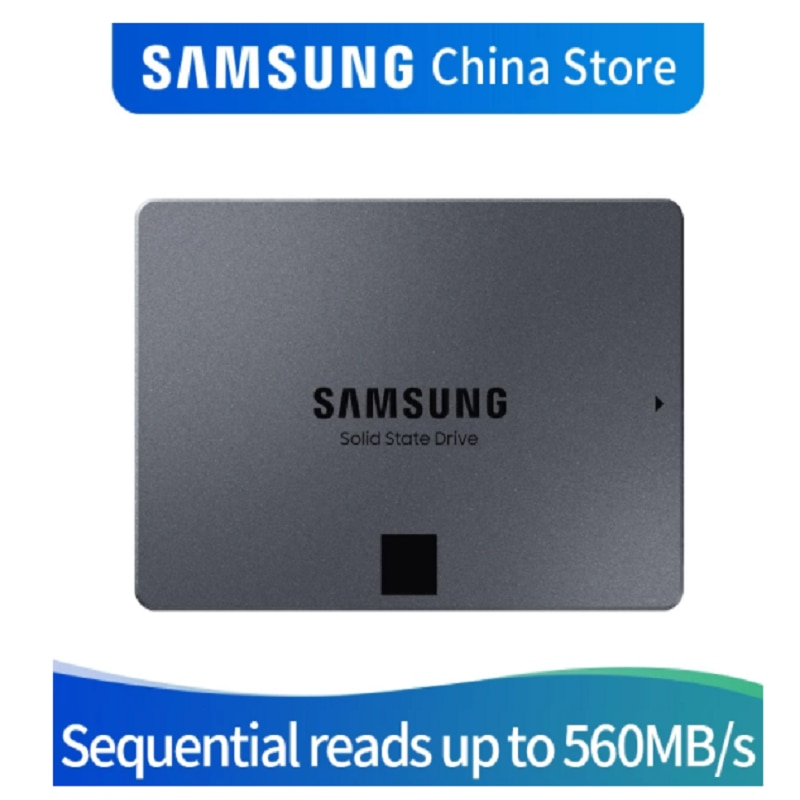 SAMSUNG MZ-77Q1T0BW 870 QVO 1TB 2TB 4TB SSD Solid State Hard Disk Laptop SSD Solid State Disk enlarge
