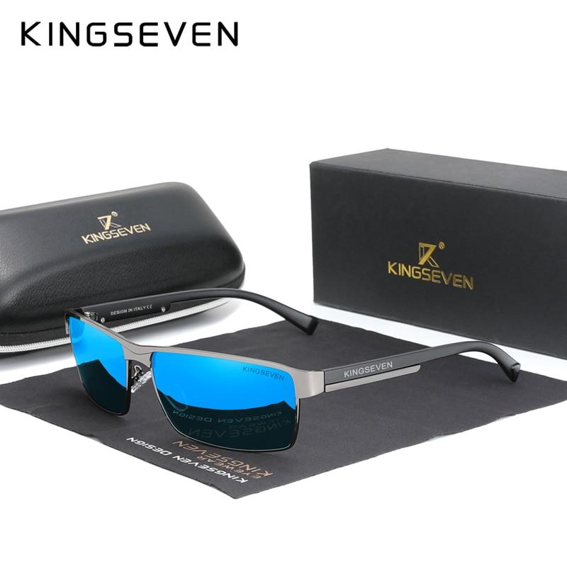 KINGSEVEN 2021 Gafas De Sol polarizadas nuevas De los hombres mujeres conduciendo...