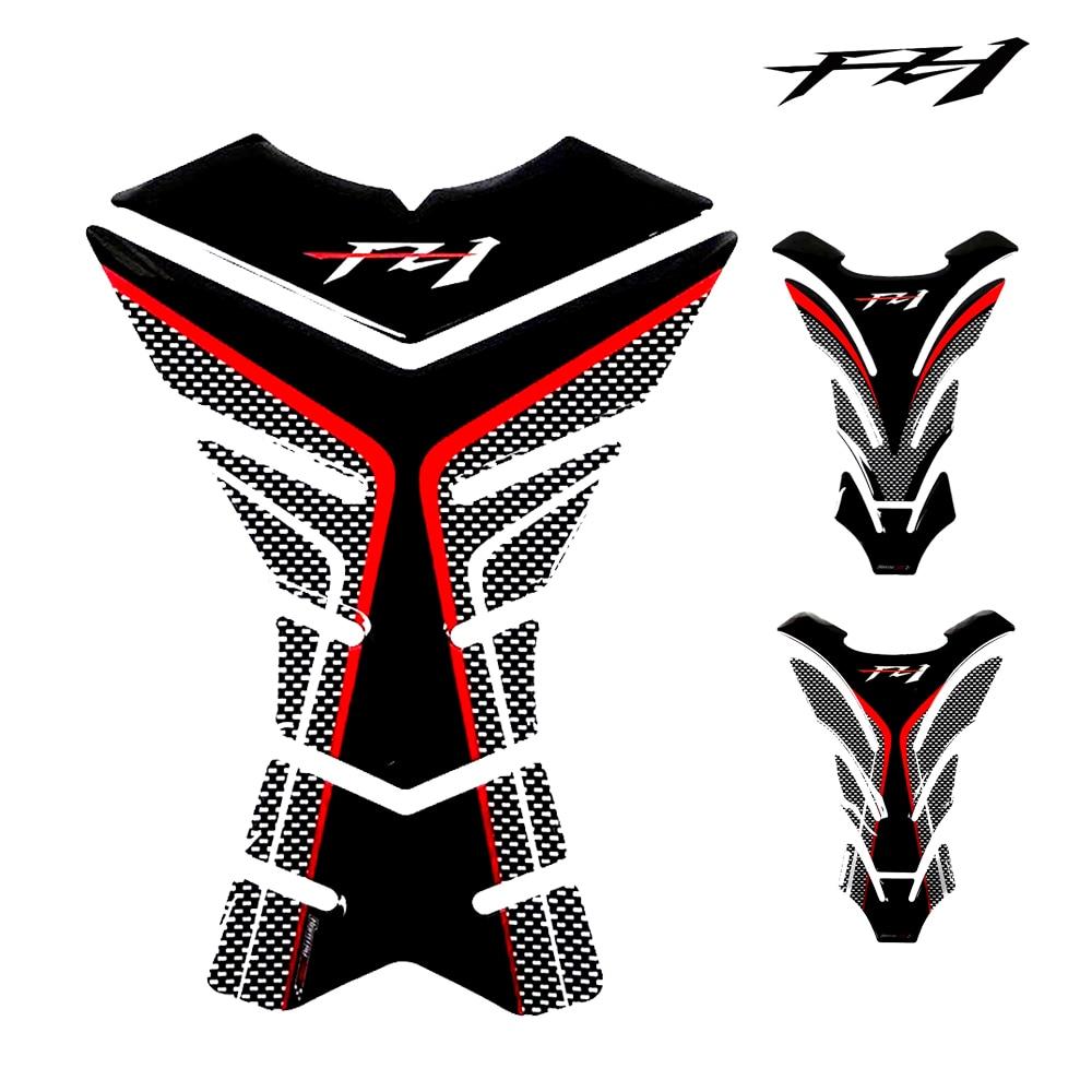 Motorcycle Tank Pad Protector for Yamaha FZ1 FZ 1 FZ1N Tank, 3D Carbon Look