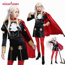 Black Eagles Edelgard Cosplay Fire Emblem Three Houses Cosplay  Costume Female Uniform