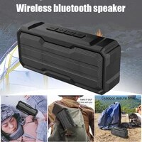 portable wireless bluetooth speakers 10w stereo sound 15h working waterproof for outdoors travel pool home party vh99
