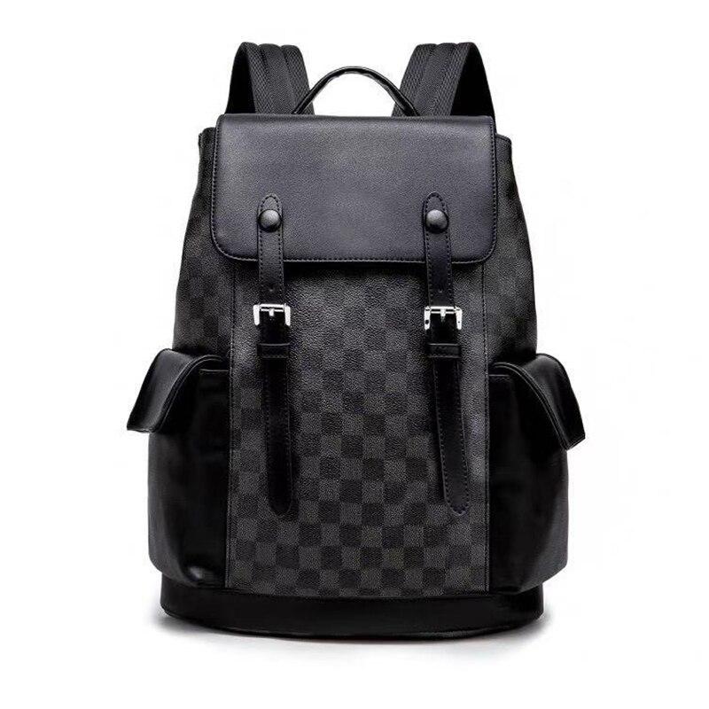 حقيبة ظهر عصرية للرجال موديل 2020 موضة جديدة حقيبة ظهر بسعة كبيرة