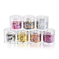 new 10mlbox 3d mixed small round piece diy nail patch material nail art design colorful sequin jewelry canned nail decorations