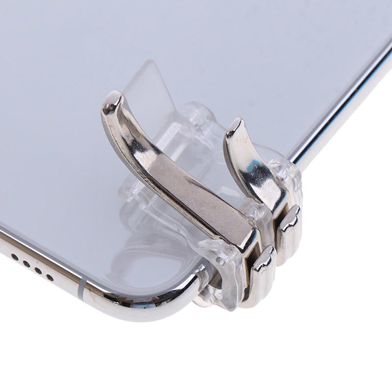 W6 металлическая Фотографическая кнопка для смартфона, мобильный джойстик, игровой джойстик L1 + R1, контроллер стрельбы PUBG/Выживание правила/...