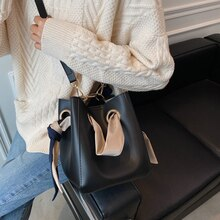 Top Brand Bucket Bag High Quality Shoulder Bag for Women New Purses and Handbags Luxury Design Cross