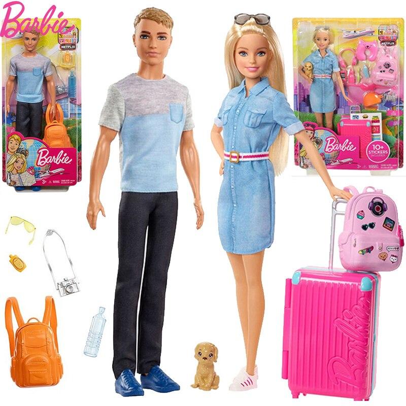 Original muñeca Barbie Ken muñeca de juguete de la moda accesorios para...