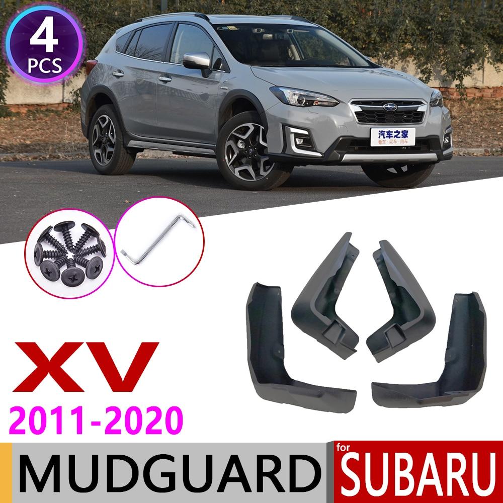 Брызговик для Subaru XV Crosstrek 2011 ~ 2020 крыло брызговик брызговики аксессуары для брызговиков 2012 2013 2014 2015 2016 2018 2019