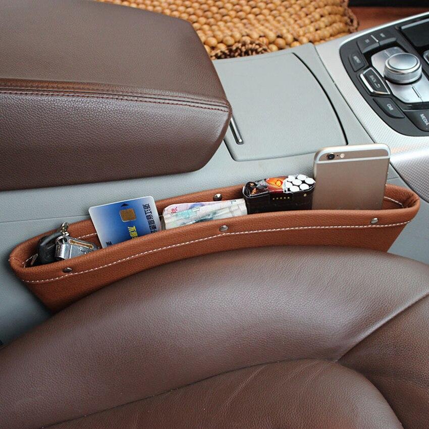 Органайзер для зазора на автомобильное сиденье, карманный органайзер для хранения на автомобильном сиденье, помогает уменьшить зазор вожд...