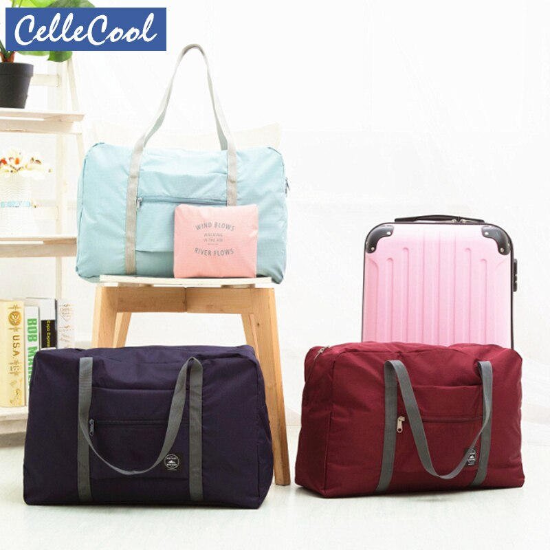 Waterproof Large Capacity Packing Cubes Travel Bag Uni Foldable Duffle Bag Organizers Portable Luggage Bag Travel Accessories