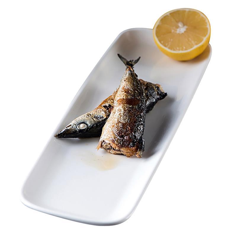 1 plato de cerámica para servir Kapmore, plato multiusos Simple de postre, plato de aperitivos para cantina, accesorios de vajilla de Sushi