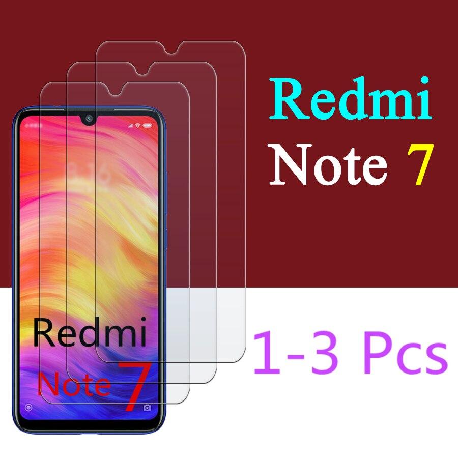 Protector de pantalla de cristal templado Note 7 para Xiaomi Redmi Note 7, cristal templado para xiaomi Redmi Note 7 xiomi 7