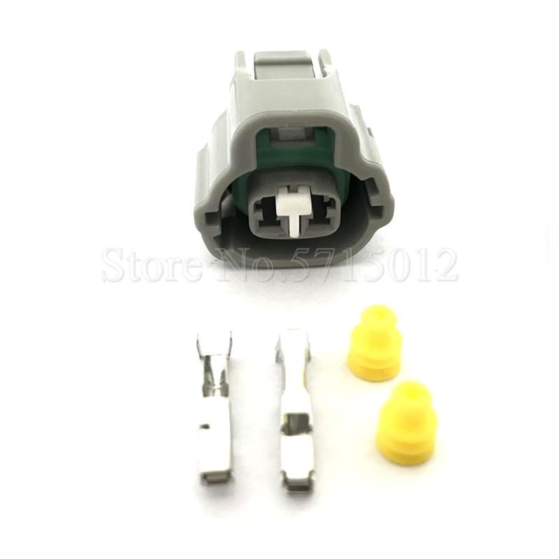 2 Hole 1JZ 2JZ 1UZ 3UZ Automotive Plug Auto Wiring Socket 7283-7526-30 For Lexus Toyota VVT i Solenoid Connector