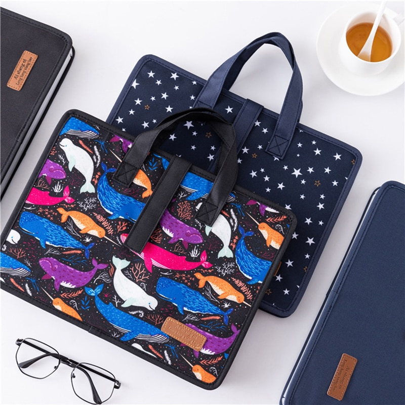 13 Layers A4 Expanding File Folder Organizer Wallet Business Series Storage Bag Office School Stationery Pouch Accessories Stuff