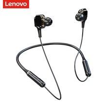 Original Lenovo XE66 sport casque sans fil Bluetooth 5.0 avec micro basse profonde écouteur actif suppression du bruit écouteurs magnétiques