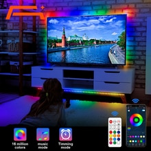 A+ LED Strip Lights, Color Changing WS2811 LED Lights With App Control,Rainbow Effect Light Strip Fo