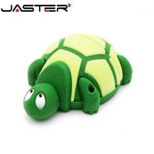 USB-флеш-накопитель JASTER в виде черепахи, 4 ГБ, 8 ГБ, 16 ГБ, 32 ГБ