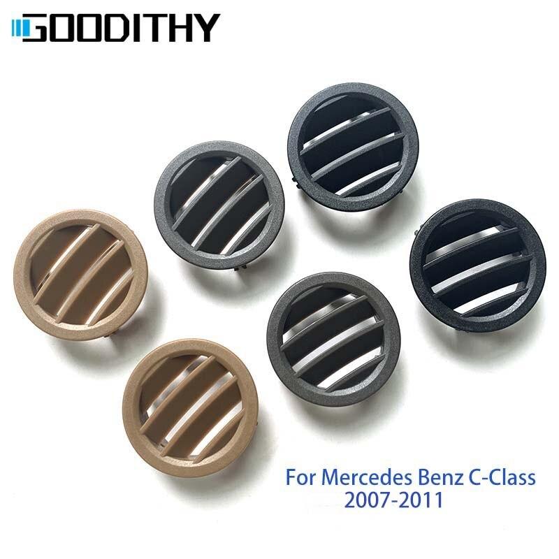 LHD RHD W204 Автомобильная консоль кондиционер вентиляционная решетка панель Крышка для Mercedes Benz c-класс 2007-2011 C180 200 220 230 260 280