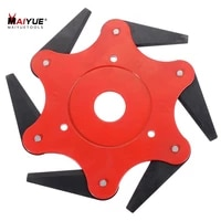 maiyue 6 blades trimmer blade 65mm weed brush for garden weed lawn mower accessories garden tools part