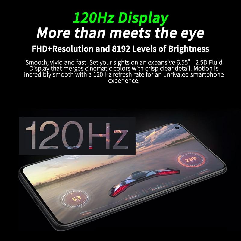 Фото2 - Смартфон OnePlus 9R 9 R с глобальной прошивкой, 8 ГБ, 128 ГБ, Snapdragon 870, 120 Гц, AMOLED дисплей, 65 Вт, основость, 48 МП, поддержка OTA и NFC