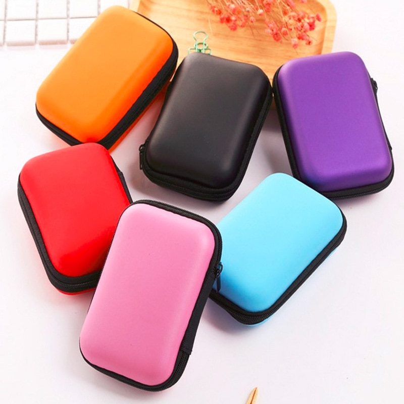 EVA Portable External 2.5 HDD Bag /Case External Hard Disk Drive Bag Carry Case Pouch Cover Pocket Hard Drive Bags