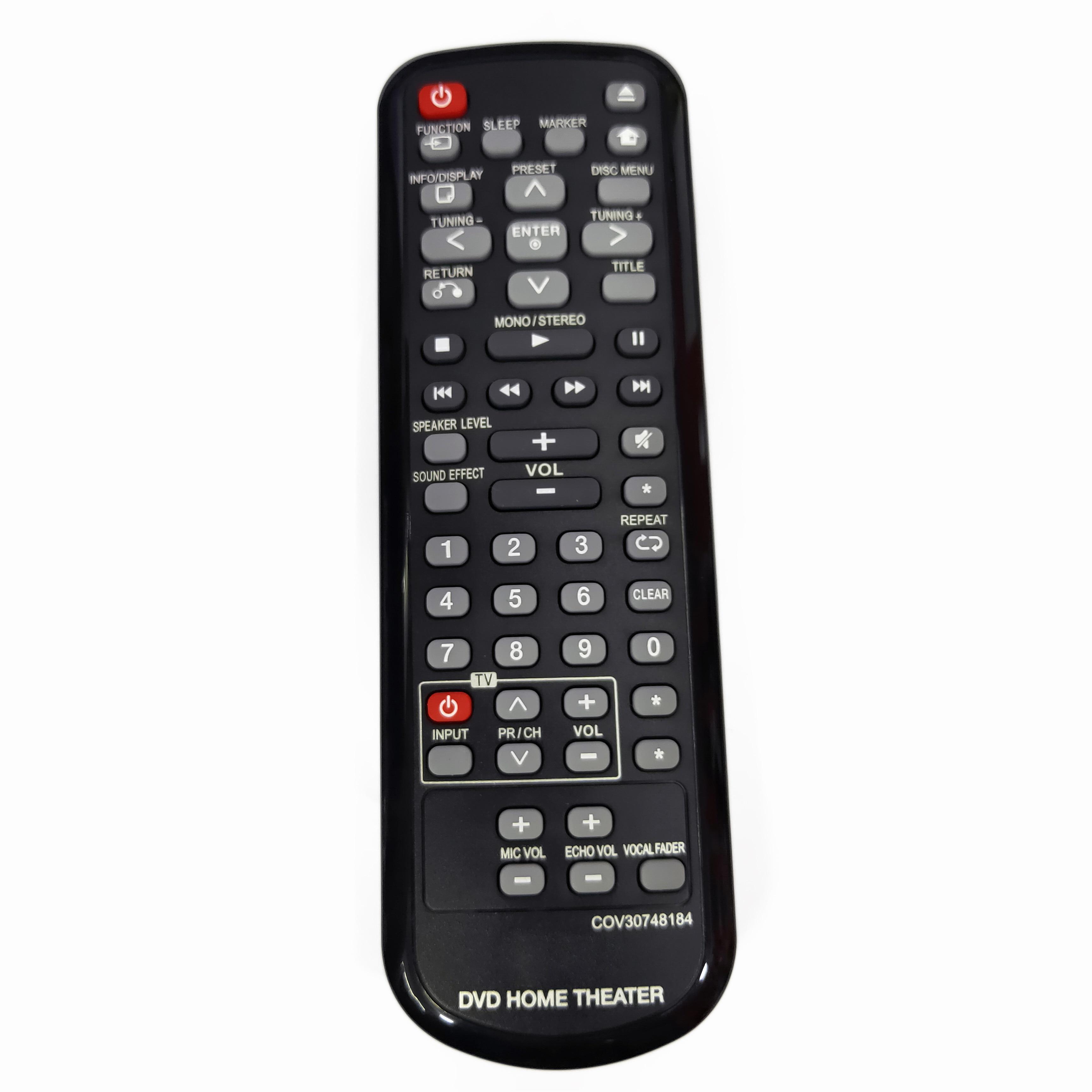 NEW Original COV30748184 for LG DVD HOME THEATER Remote control Fernbedienung