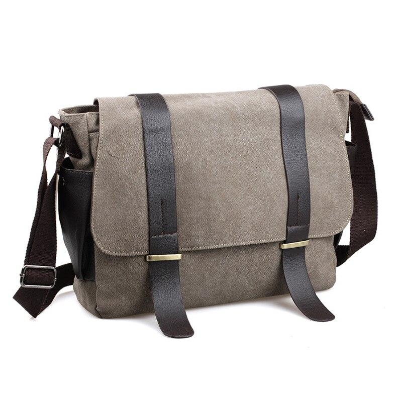 Xiao.p homens casuais lona garantia de qualidade único ombro crossbody saco estudante moda multifuncional bolsa de lona viagem