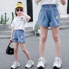 shorts jeans feminino 2020 girls jeans summer  Children Denim Shorts  Kids pants Girls Clothes 3 4 5 6 7 8 9 10 11 12 years