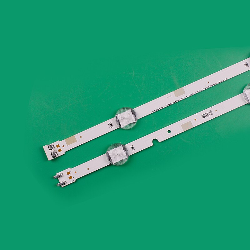 Brand new 160PCS 4+3LED LED backlight strip for Samsung 43 inch UA43J51SW UA43J5000 UA43J5200 UA43J5300AF HG43AD5700SJXXZ enlarge