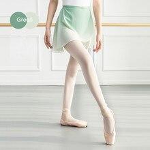 Filles adultes en mousseline de soie jupes femmes lyrique dégradé robe de Ballet à lacets jupes pour danse justaucorps doux dégradé Costumes de danse