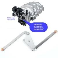 for benz m272 v6 m273 v8 cl550 intake manifold air flap runner lever repair kit 2721402401 2721402201 car parts