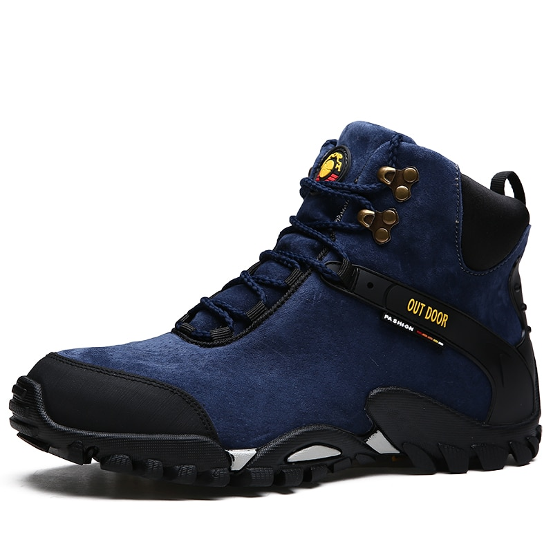 38-47 Men's Military Boots Winter Warm Snow Waterproof Work Safety Shoes Motocycle Boot Combat Army Ankle Outdoor Hiking Male designer men winter military boots male snow fur combat ankle boots waterproof army rain shoes chaussure homme