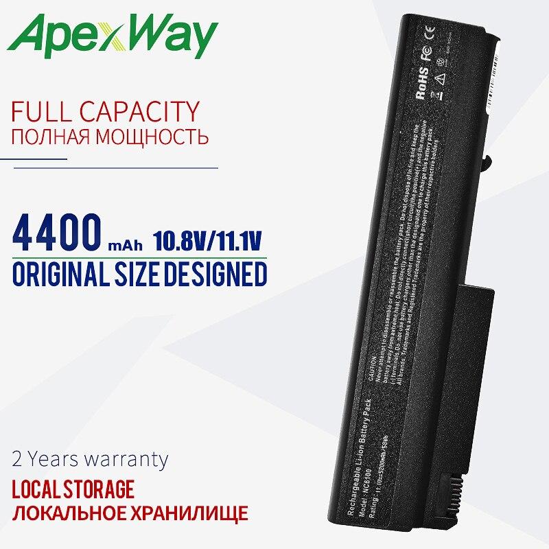 ApexWay 11,1 v batería de ordenador portátil para HP cuaderno de negocios 6910p 6510b 6710b 6710 6715b 6715 nc6100 NC6105 418867-001 418871-001